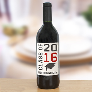 Personalized Class Of Wine Bottle Labels