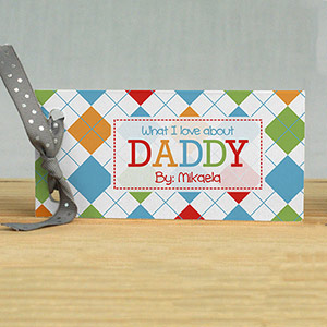 Personalized What I Love About Book | Fathers Day Gifts