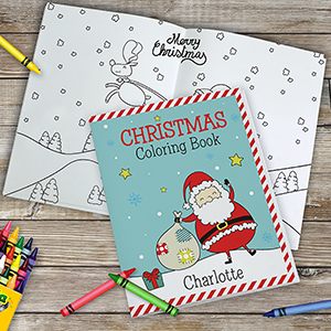 Personalized Christmas Coloring Book 11078516