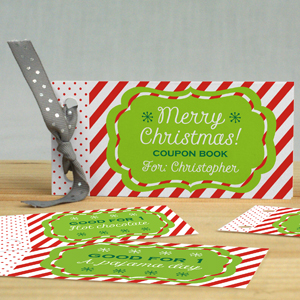 Personalized Christmas Coupon Book 11081217
