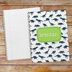 Personalized Dinosaur Notebook Set | Personalized School Supplies