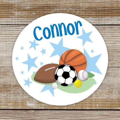 Personalized Sports Labels 136241