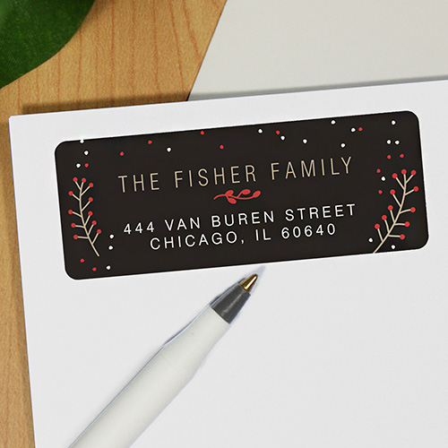 Berry Address Labels 197490x