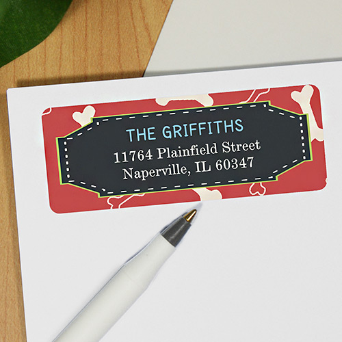 Furry & Bright Address Labels 197990x