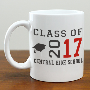 Personalized Class Of Ceramic Mug | Graduation Cups Personalized