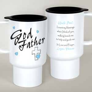 Personalized Godfather Travel Mug T210820