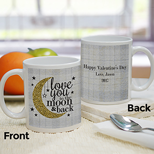 Personalized Love You To The Moon And Back Mug 2110030