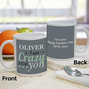 Personalized Crazy For You Mug 211026