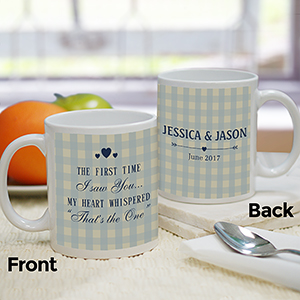 Personalized First Time I Saw You Mug 2110270