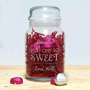 Personalized Valentines Treat Jar 2110434