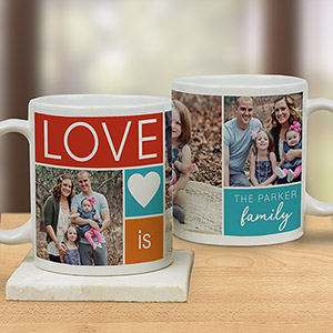 LOVE Photo Mug | Photo Mugs