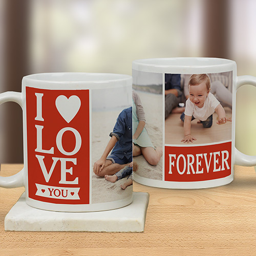 Love Forever Photo Mug | Personalized Mugs