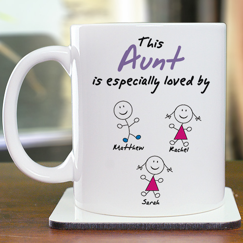 Personalized Especially Loved By Coffee Mug | Customizable Coffee Mugs