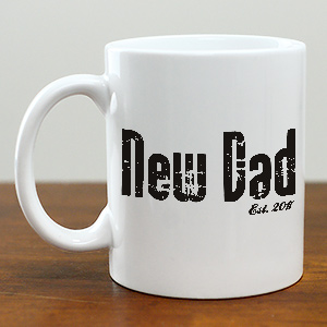 Custom Printed New Daddy Coffee Mug | Gifts for New Dads