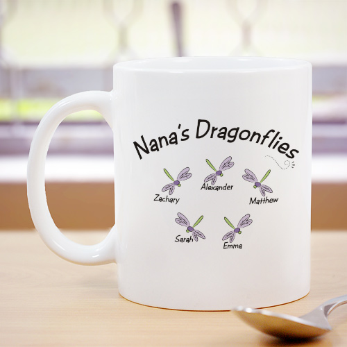 Personalized Dragonflies Coffee Mug 238590