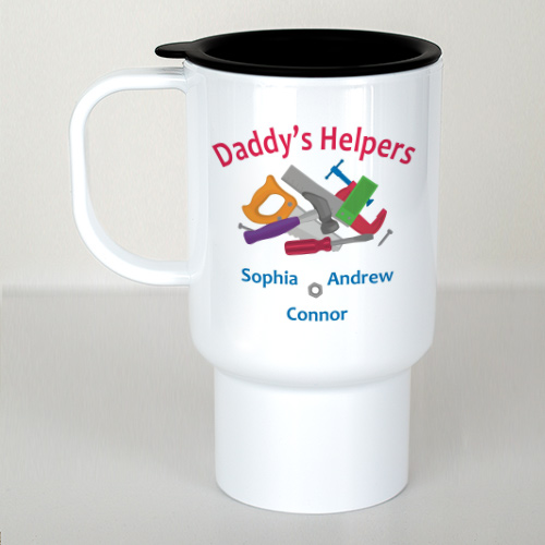 Personalized Helpers Travel Mug | Custom Coffee Mug