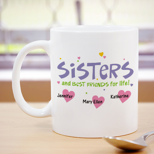 Personalized Best Friends for Life Coffee Mug 244670