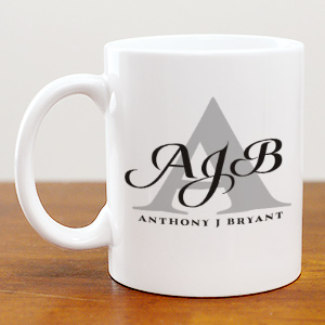 Personalized Initials & Name Coffee Mug 249660