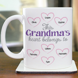 Personalized Heart Belongs To Coffee Mug 259330X