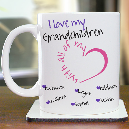 Personalized With All My Heart Mug 262230X