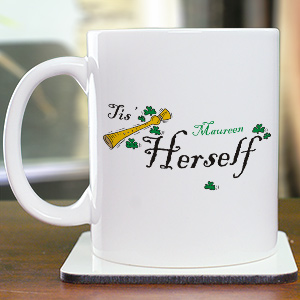 Tis Herself Coffee Mug | Customizable Coffee Mugs