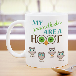 Personalized Are A Hoot Coffee Mug 270050