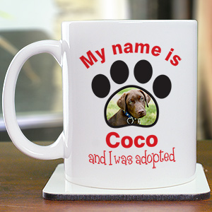 Personalized Adopted Pet Photo Mug 270690X
