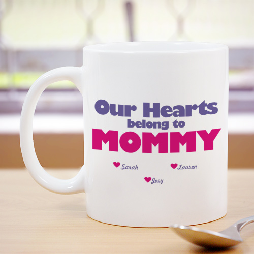 Personalized Our Hearts Belong To Mug 272540X