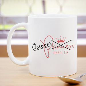 Personalized Queen Mug 272840X