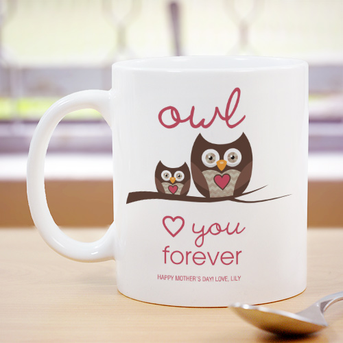 Personalized Love You Forever Mug | Customizable Coffee Mugs