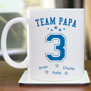 Personalized Team Dad Mug | Custom Mug