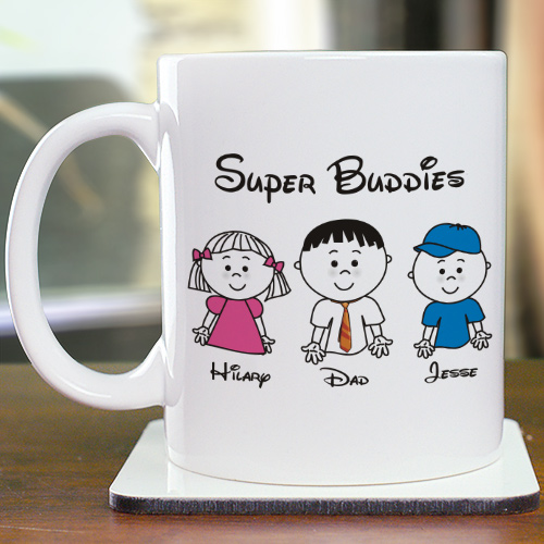 Personalized Fathers Day Coffee Mug | Custom Coffee Mug