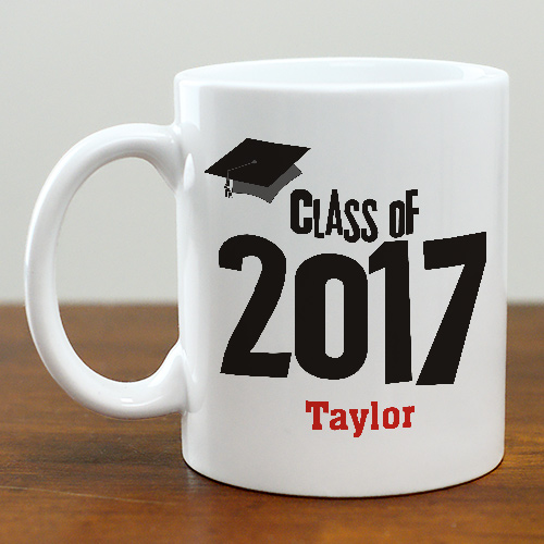 Graduation Cap Class of Graduation | Personalized Coffee Mug