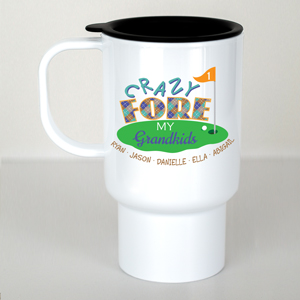 Golf Personalized Mug | Customizable Coffee Mug