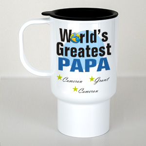 Personalized World's Greatest Travel Mug T27910