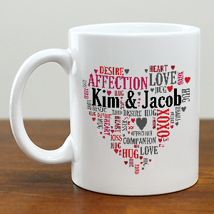 Couples Love Mug | Customizable Coffee Mugs