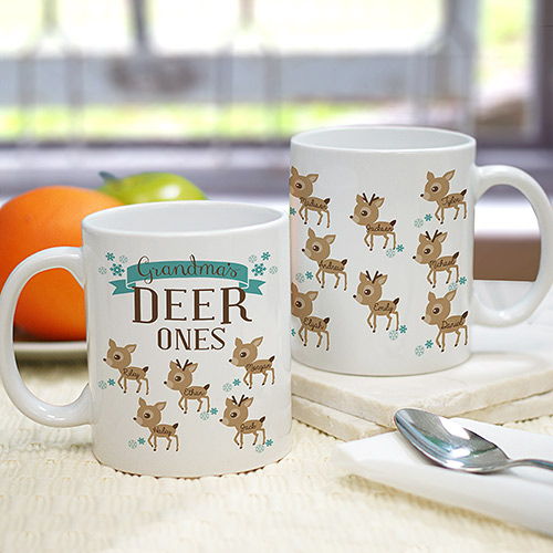 Deer Ones Personalized Mug