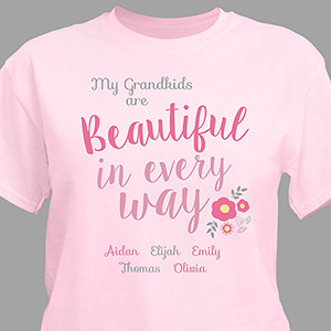 Personalized Beautiful In Every Way T-Shirt