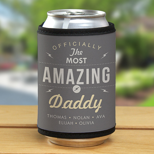 Personalized Most Amazing Daddy Can Wrap | Father's Day Gift Idea