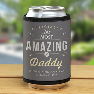 Engraved Most Amazing Daddy Glass 3102059