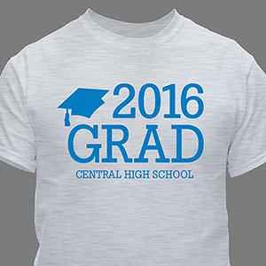 Personalized Grad T-Shirt