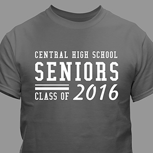 Personalized Seniors T-Shirt