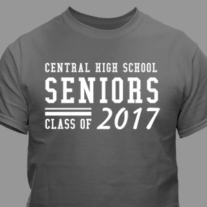Personalized Seniors T-Shirt 310231X