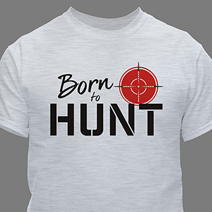 Personalized Born To T-shirt