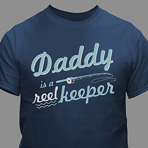 Personalized Reel Keeper T-Shirt | Dad Shirts