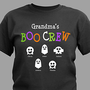 Boo Crew Personalized T-Shirt 310515X