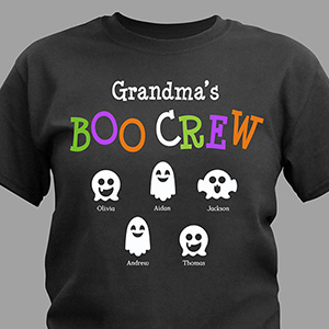 Boo Crew Personalized T-Shirt