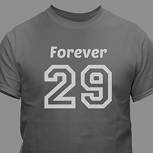 Personalized Birthday Message T-Shirt