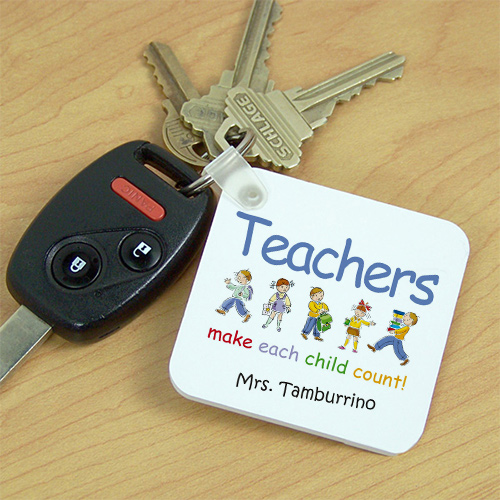 Teacher Keychain | Personalized Teacher Gifts