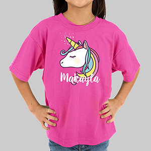 Personalized Unicorn Youth T-Shirt | Unicorn Shirt